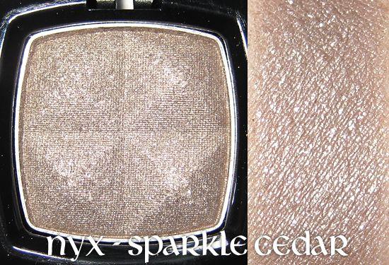 NYX Single Eye Shadow - Sparkle Cedar