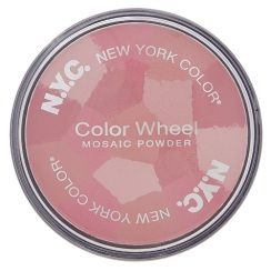 New York Color Color Wheel Mosaic Powder Pink Cheek Glow