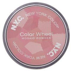 New York Color Color Wheel Mosaic Powder Pink Cheek Glow