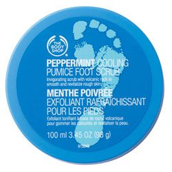 The Body Shop Pumice Foot Scrub