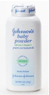 Johnson & Johnson Medicated Baby Powder Aloe & Vit. E
