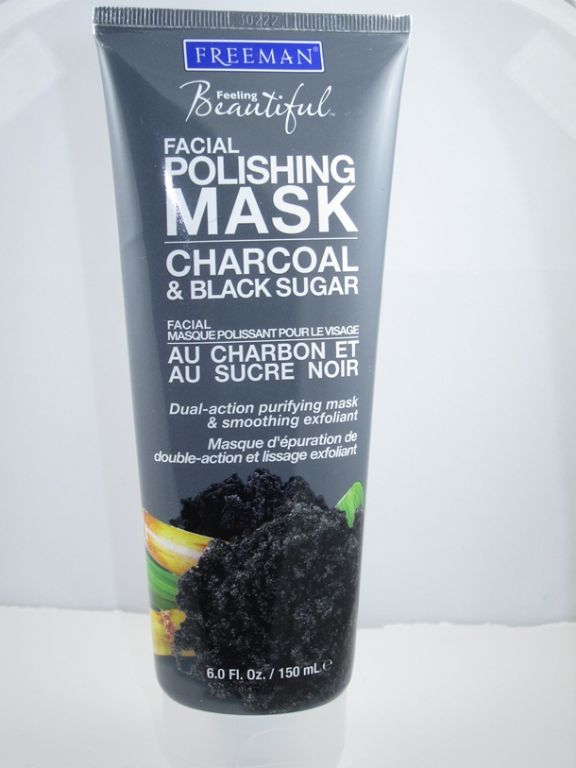 Freeman Charcoal and Black Sugar Facial Polishing Mask
