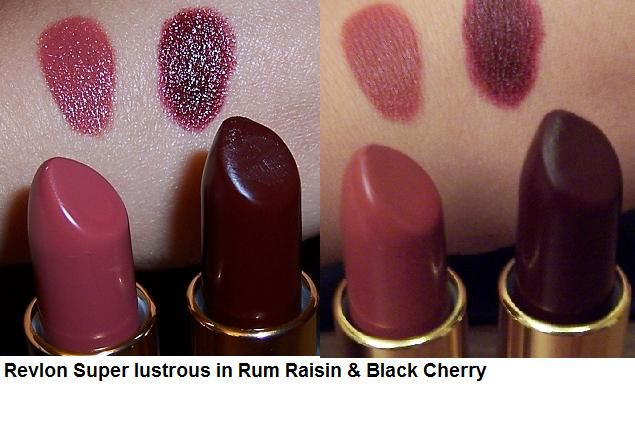 Revlon Super Lustrous Creme - Black Cherry 477
