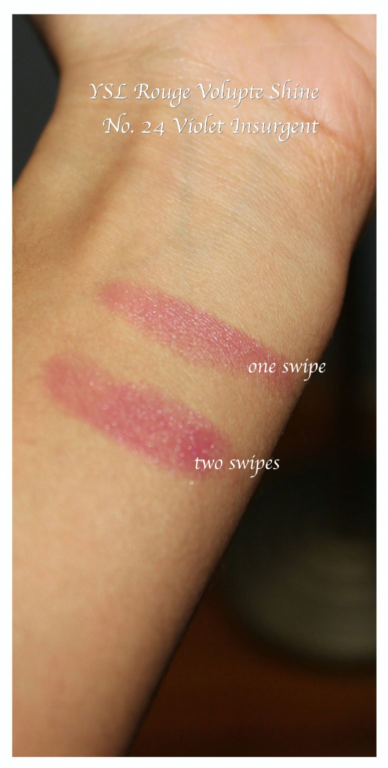 Yves Saint Laurent Rouge Volupte Shine Reviews Photos