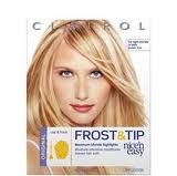 Clairol Nice 'n Easy Frost and Tip in Maximum Blonde Highlights (light to dark brown hair)
