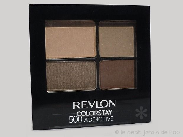Revlon Colorstay Quad