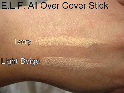 E L F All Over Cover Stick Reviews Photos Ingredients