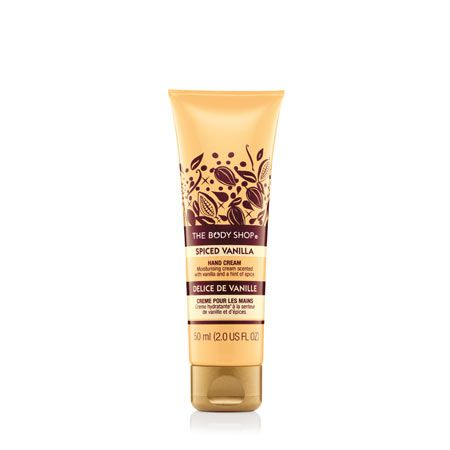 The Body Shop Spiced vanilla hand cream