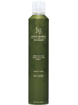 David Babaii for WildAid Light Styling Spray