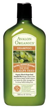 Avalon Organics Botanicals Olive & Grape Seed Moisturizing Shampoo - Fragrance Free