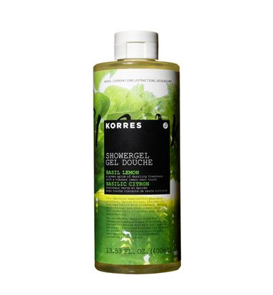Korres Lemon Basil Shower Gel