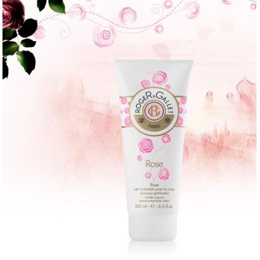 Roger & Gallet Rose - Gentle fragrant moisturizing body lotion
