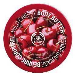 The Body Shop Wild Cherry body butter