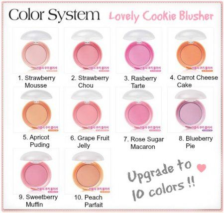 Etude House Lovely Cookie Blusher All Colours Reviews