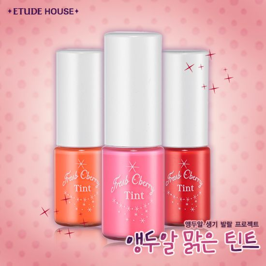 Etude House Fresh Cherry Tint (All colours)