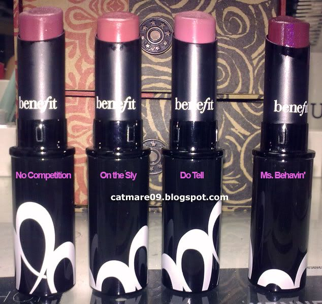 BeneFit Cosmetics Silky-Finish Lipstick in On the Sly