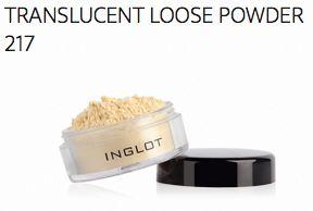 Inglot Translucent Loose Powder - 217