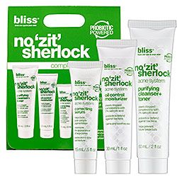 Bliss Labs No 'Zit' Sherlock Complete Acne System