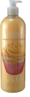 Ulta 3 in 1 Shower Smoothies - Buttercream Cupcake
