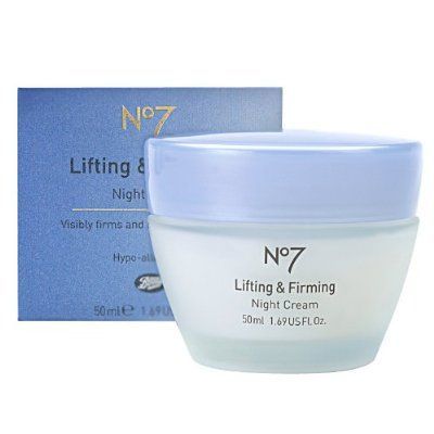 Boots  No7 Lifting and Firming Night Cream