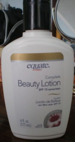 Equate beauty lotion