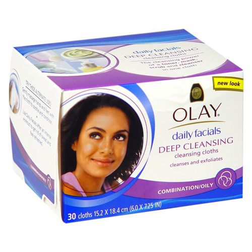 Olay Clarifying Daily Facials for Combo/Oily Skin [DISCONTINUED]