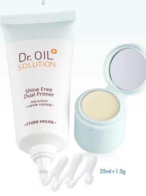 Etude House Dr. Oil Solution Shine Free Dual Primer