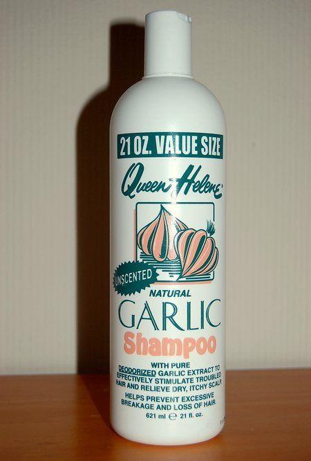 Queen Helene Natural Garlic Shampoo