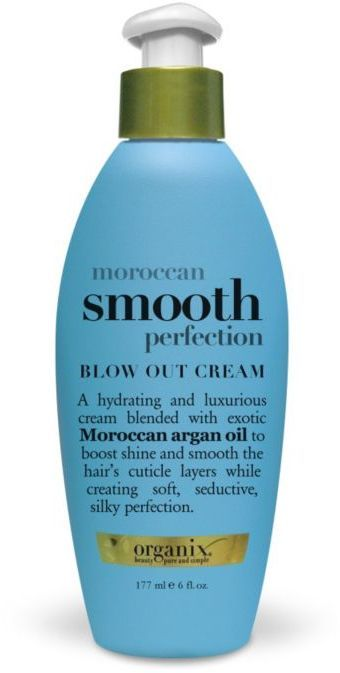 Organix Moroccan smooth perfection blow out cream