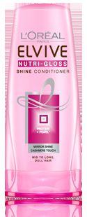 L'Oreal Elvive Nutri-Gloss shampoo