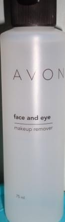 Avon Face and Eye - makeup remover
