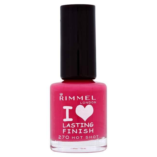 Rimmel Lasting Finish Nail Polish (All)