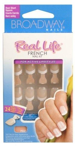 Broadway Nails Real Life French Nail Kit