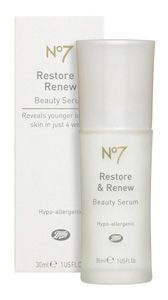 Boots  No7 Restore & Renew Beauty Serum