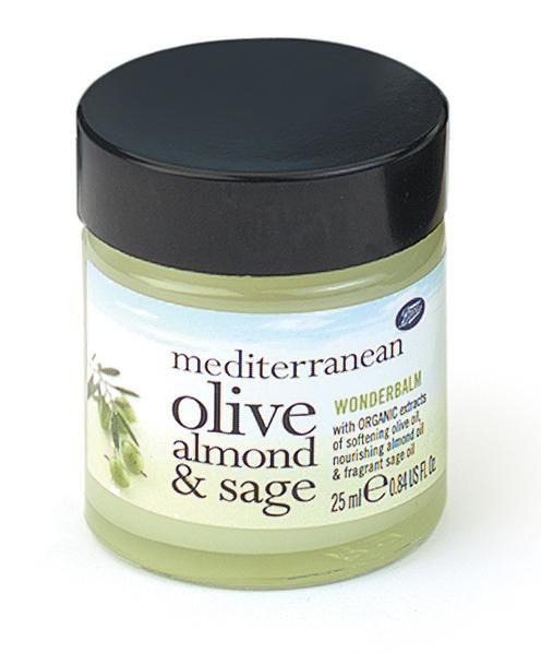 Boots  Mediterranean Olive, Sage and Almond Wonderbalm