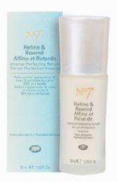 Boots  No7 Refine & Rewind serum