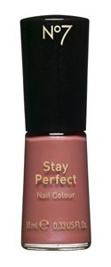 Boots  No7 Stay Perfect Nail Colour