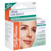 sally hansen creme hair bleach for face instructions