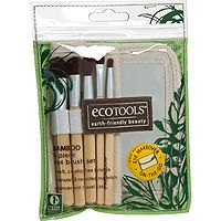 Ecotools  6 Piece Eye Brush Set (5 brushes,1 case)