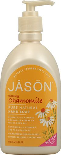 Jason Natural Cosmetics Pure Natural Hand Soap - Relaxing Chamomile