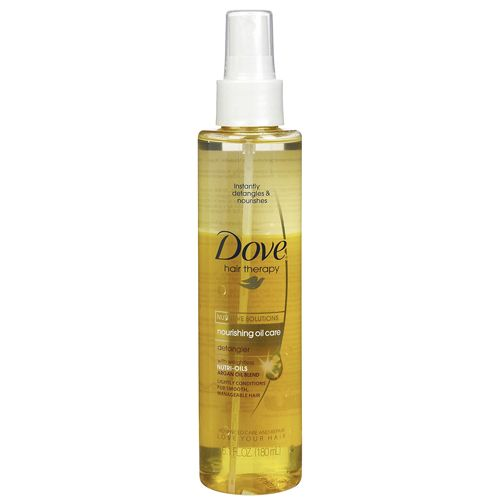 Dove Oil Care Detangler Review Dove Nourishing Oil Detangler