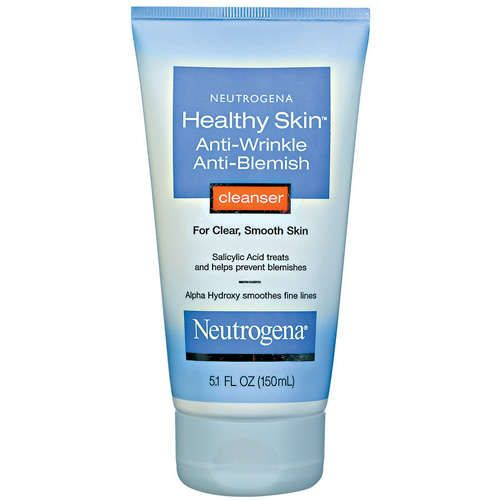 Neutrogena Healthy Skin Anti-Wrinkle Anti-Blemish Cleanser