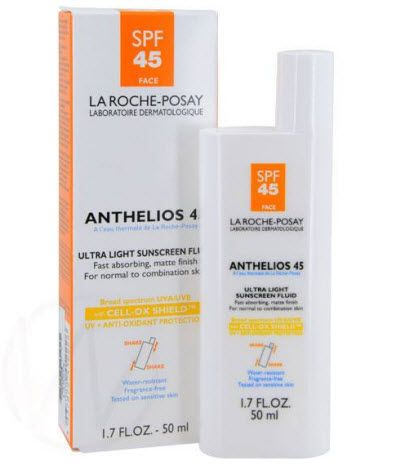 La Roche Posay La Roche-Posay Anthelios 45 Face Ultra Light Suncreen Fluid