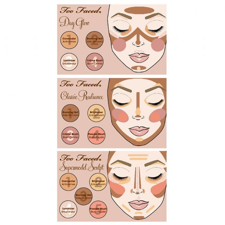 Too Faced Natural Face Natural Radiance Face Palette