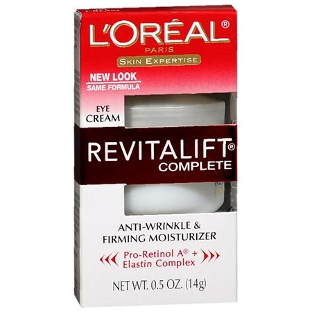 L'Oreal Revitalift Complete Eye Cream