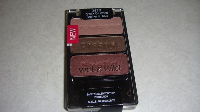 Wet 'n' Wild Color Icon Trio - Knock on Wood [DISCONTINUED]