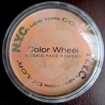 New York Color Color Wheel Mosaic Powder Peach Glow