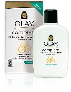Olay Complete All Day Moisturizer with Sunscreen Broad Spectrum SPF 15 - Sensitive