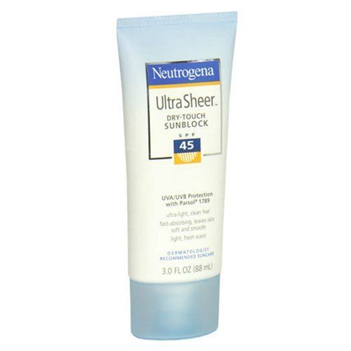 Neutrogena Ultra Sheer Dry-Touch Sunblock SPF45