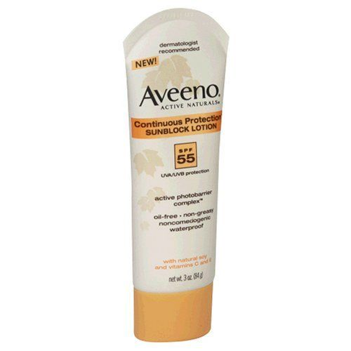 Aveeno Active Naturals Continuous Protection Sunblock Lotion SPF 55